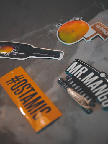 Mr.Mango Stickers