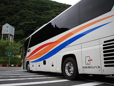 京浜急行バス「エディ号」吉野川系統 3207 鮎沢パーキングエリア_04