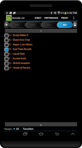 Remuda Lite - USB Guitar Amplifier Control App 1.8.4-lite screenshots 12