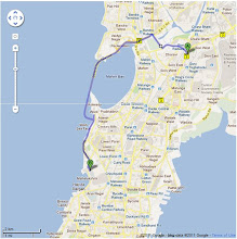 Photo: Route Map: Sion Circle to Nehru Centre