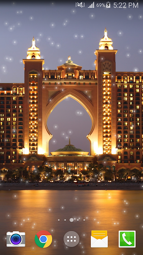 Dubai Night Live Wallpaper PRO Aplicaciones (apk) descarga gratuita para Android/PC/Windows screenshot