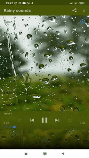 Rain Sounds screenshot 1