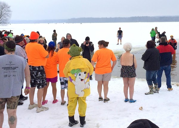 January 17th, 2015 -- I wanted to add a photo of the Polar Plunge...