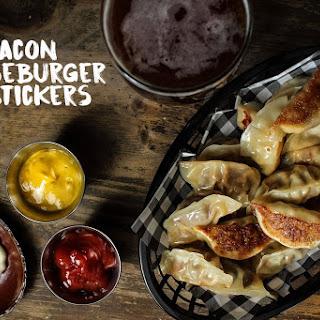 Bacon Cheeseburger Potstickers.