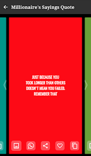 Millionaire's Sayings Quote - náhled