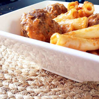 Pasta with Meatballs.