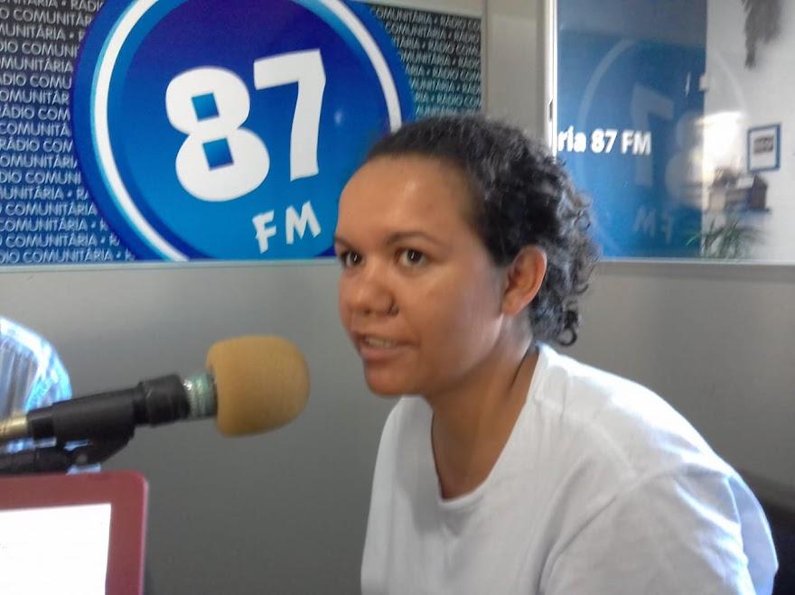 Letícia de Paula Nascimento, membro do Coletivo IF Sul Da Minas