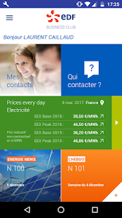 EDF Business Club – Vignette de la capture d'écran
