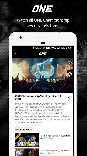 ONE Championship 1.1.12 screenshots 1