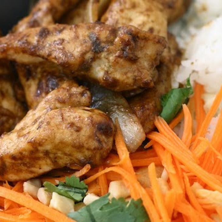 Stir-Fried Lemongrass Ginger Chicken Recipe