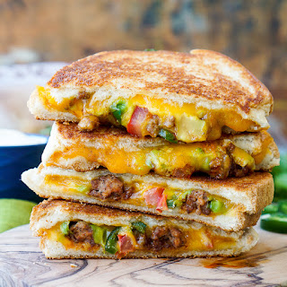 Taco Grilled Cheese Sandwich