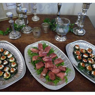Party Canapes.