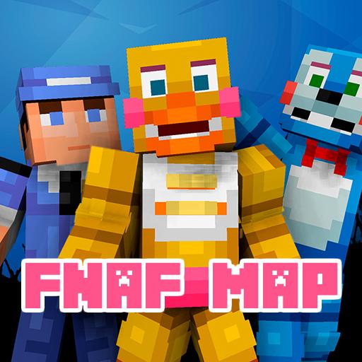 Creepy fnaf maps for MCPE