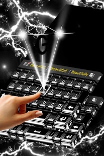Super černá klávesnice - náhled