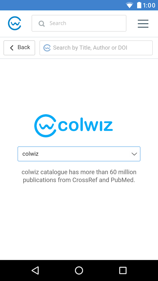 colwiz- screenshot