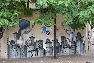 Photo: Street art - -Paris XIIIe -La butte aux cailles