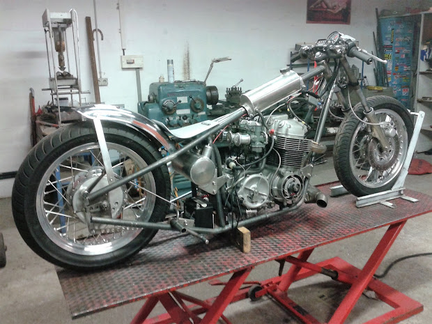 750 Honda CB Drag bike for the new saison.