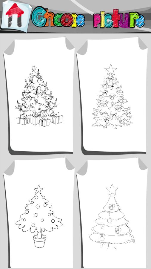 Weihnachtsbaum Malbuch – Android-Apps auf Google Play