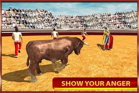 rozzlobený býk útok simulátor - náhled