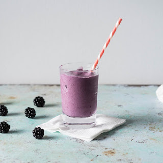 Blackberry Milkshakes