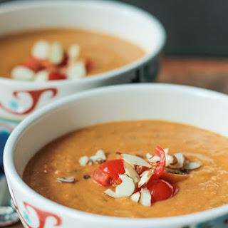 Sweet Potato Almond Soup