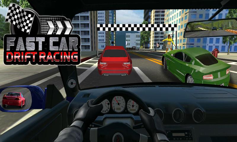 fast car drift racing screenshot