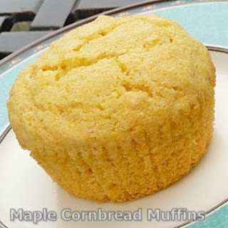 Maple Cornbread Muffins.
