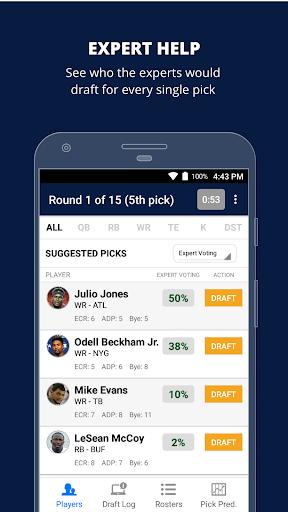 Fantasy Football Draft Wizard (NFL 2017) screenshot 2