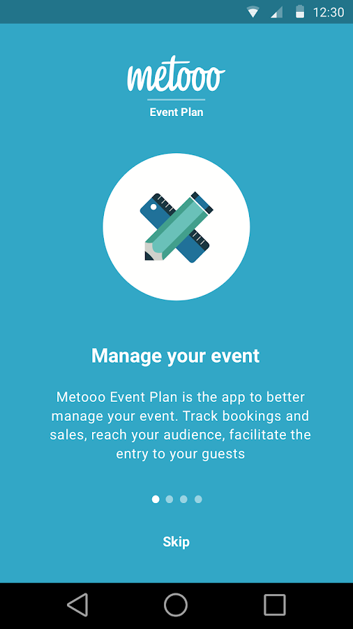 Metooo Event Plan- screenshot