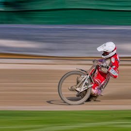 Speed by Stane Gortnar - Sports & Fitness Motorsports ( speedway, motorsport, race, speed, bike )