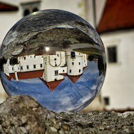 Varaždin by Dunja Kolar - Artistic Objects Glass ( varaždin, croatia, stari grad )