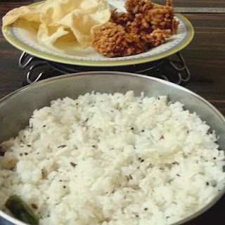 Coconut Rice Recipe, South Indian Coconut Rice