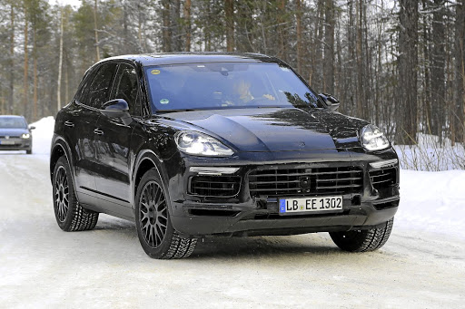 The new Cayenne will get a clamshell bonnet similar to the Macan.   Picture: BRIAN WILLIAMS