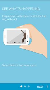 Perch - Simple Home Monitoring Screenshot 1