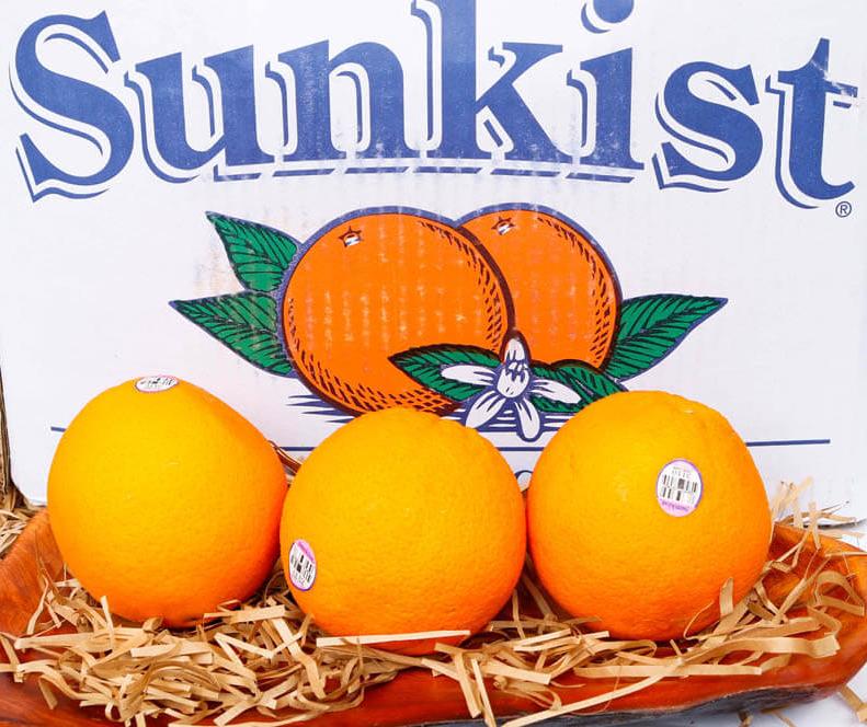 Cam Úc Sunkist chứa hàm lượng vitamin C và chất xơ dồi dào