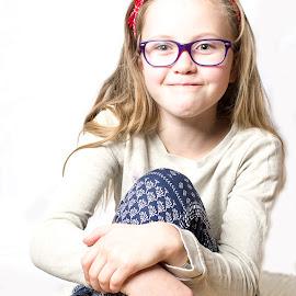 Make some fun by Rune Nilssen - Babies & Children Child Portraits ( pentax, color, norway, k3, girl, fun, nordland )