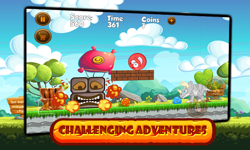 Super Red Ball: Red Ball in the Jungle Adventures 1.01.0 screenshots 1
