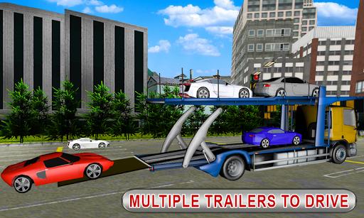 Truck Car Transport Trailer Games 1.5 screenshots 4