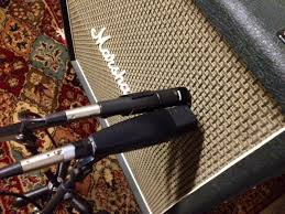 Miking with a guitar cab with an SM57 and MD421