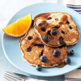 Blueberry Buckwheat Pancakes.