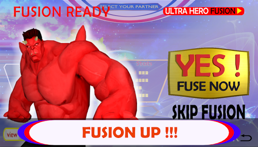Ultra Hero Fusion : Superhero Ultra Man Battle 1.0.1 screenshots 2