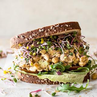 Chickpea Salad Sandwich.