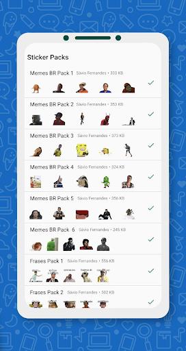 Brazil Funny Memes - Stickers Whatsapp 17.0 screenshots 4