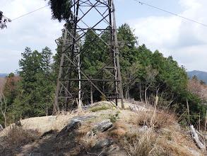 鉄塔付近の様子