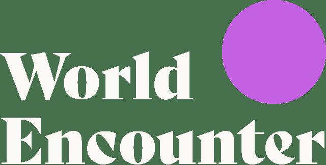 World Encounter Logo Reverse
