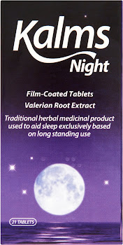 Kalms Night Film-Coated Tablets - Valerian Root Extract, 21 Pack
