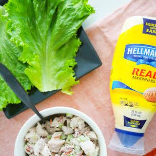 Harvest Chicken Salad Lettuce Wraps.