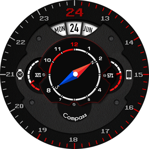 android Phroton Interactive Watch Face Screenshot 26