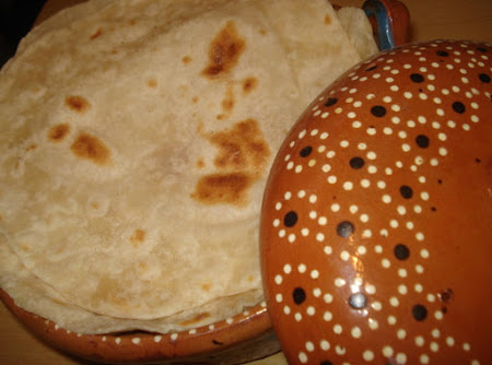 Mexican Flour Tortillas, Tortillas de Harina de Castilla Recipe