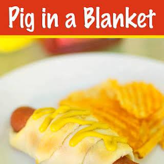 Pig in a Blanket.
